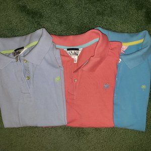 Lilly Pulitzer Polo 3 Pack - Size Medium